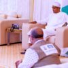 JUST IN: Presidency releases video of Buhari receiving Health Minister, NCDC DG