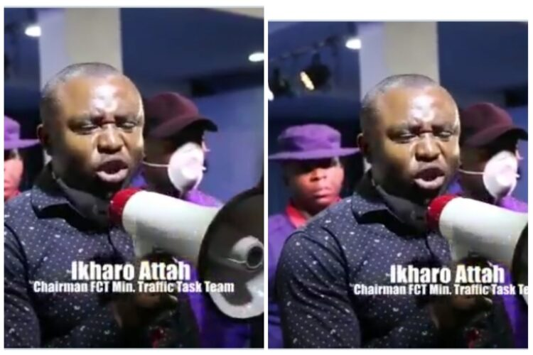 Abuja: Task Force official uses the bible to speak sense to a church flouting coronavirus rules (Video)
