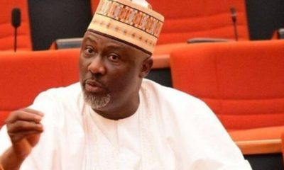 Dino Melaye reacts as Buhari locks down FCT, Lagos, Ogun