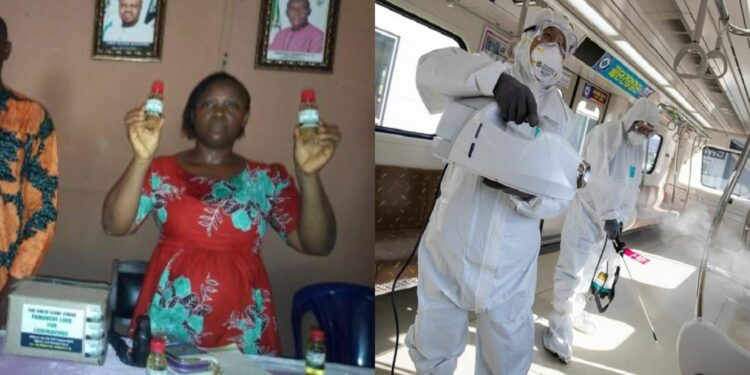 God has picked me and given me divine secrets to heal coronavirus patients, Enugu prophetess says