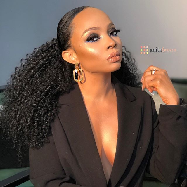 If a lady's achievements intimidate you then you are not man enough- Toke Makinwa (video)