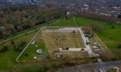 COVID-19: UK set to build mortuary the size of two football fields (Photo)