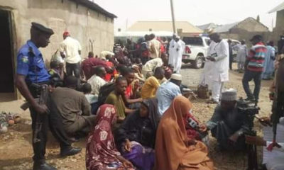 Zamfara burst illegal rehabilitation centre, rescues 57 inmates tied in chains (photos)