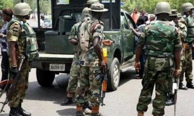 Covid-19 lockdown: Army nabs soldiers that harassed Delta residents -Official