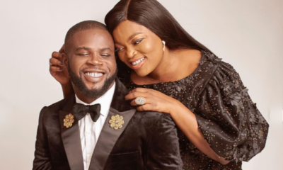 My king, thank you for being a sweetheart, Funke Akindele praises husband, JJC Skillz on his birthday