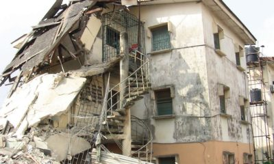 LASEMA calls for integrity test, as building collapses in Lagos