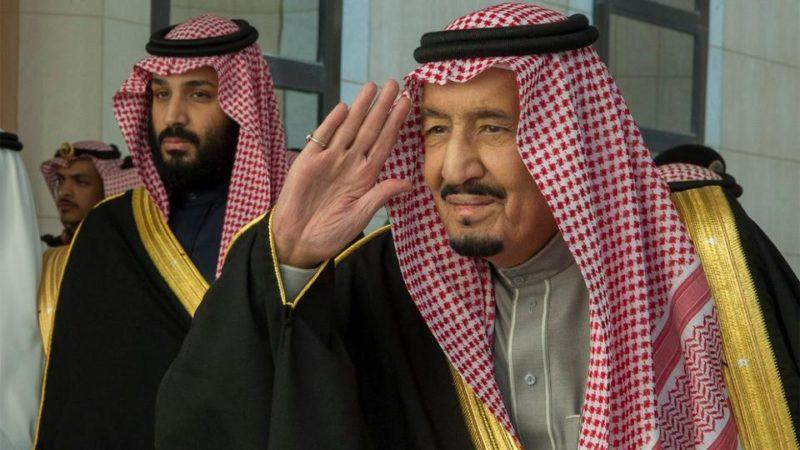 Saudi King n Prince