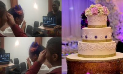 Covid-19 lockdown: Couple get married as members of their family attend from all over the world