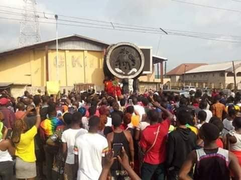Delta women stage protest over two weeks lockdown extension (photos)