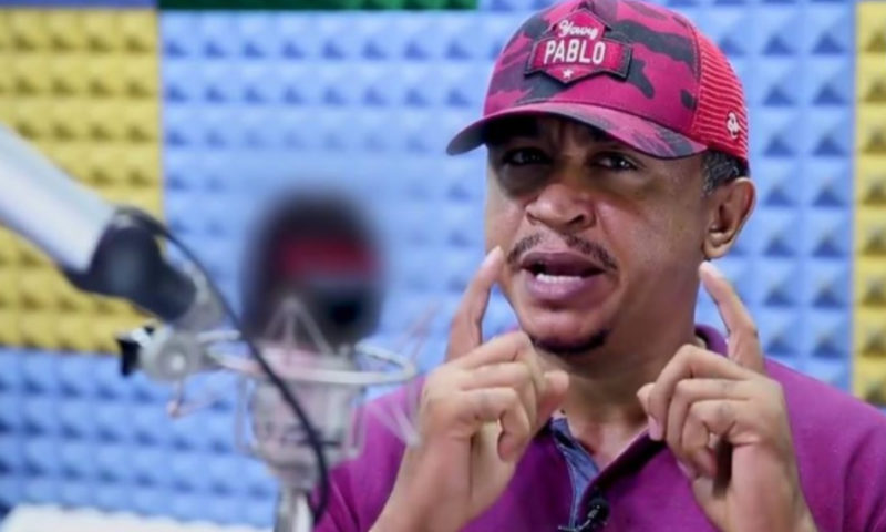Daddy Freeze denounces 'Jesus' as his Lord and saviour