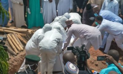 You shouldn't have arrested Funke Akindele, Nigerians lambaste government after crowd gather for Abba Kyari's burial
