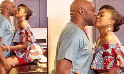 "How do your spouses cope, fans react as RMD, Omoni Oboli ""lock lips"" on set"