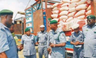 COVID-19: Customs bars Oyo from returning 1800 'infested' bags of rice