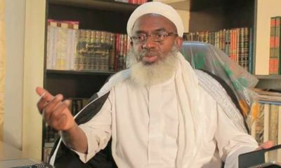 It is suicidal, irresponsible to relax lockdown, Sheik Gumi tells FG