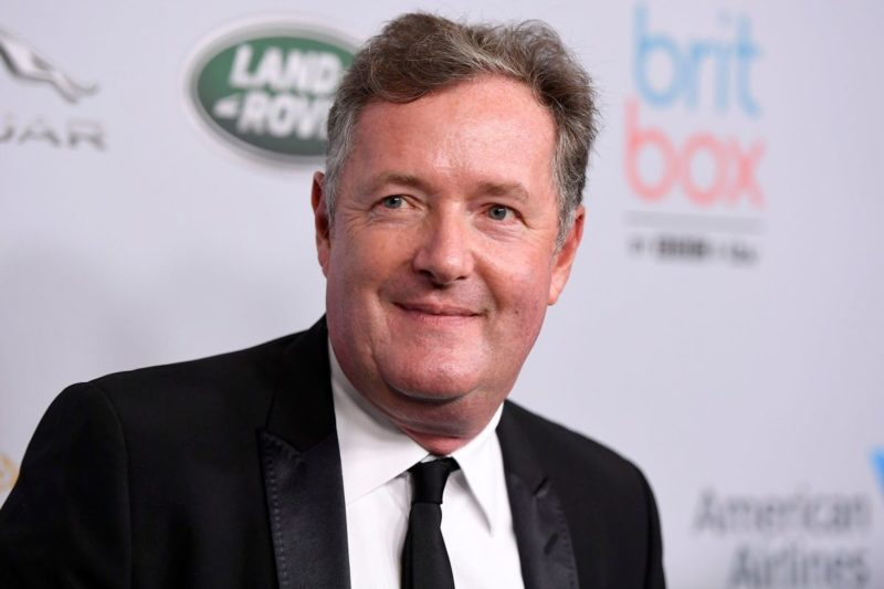 Piers Morgan Develops Mild Symptom Of COVID-19, To Temporarily Step Back From 'Good Morning Britain'