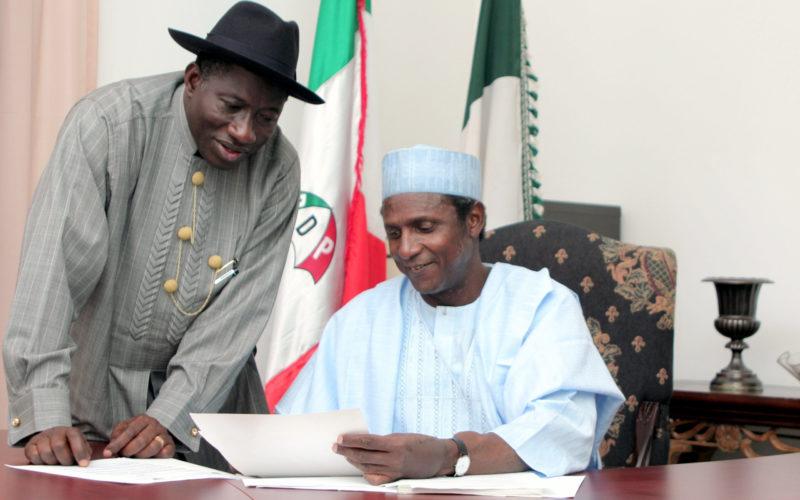 Goodluck Jonathan pays tribute to late President Umaru Musa Yar'Adua