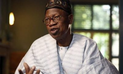 Chinese doctors have started working in isolation centres –Lai Mohammed