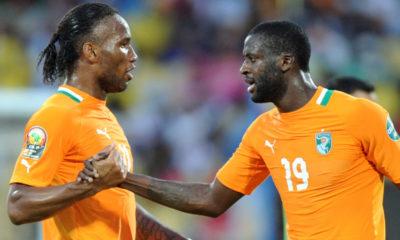 Yaya Toure Didier Drogba
