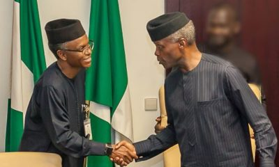 Osinbanjo is the current chairman of the short people association- El- Rufai