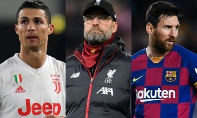 Football: Jurgen Klopp picks Lionel Messi over Cristiano Ronaldo