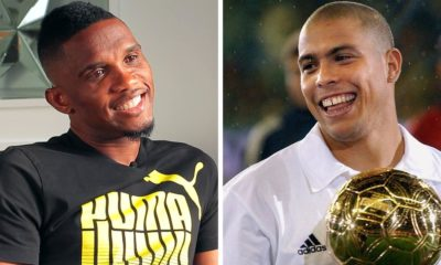 Samuel Eto'o: Brazil's Ronaldo is the best striker ever