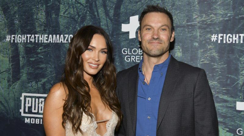 Actor Brian Austin Green confirms split from Megan Fox