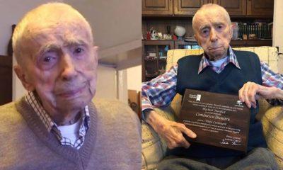 Dumitru Comanescu: World's oldest man,111, reveals secret to his long life