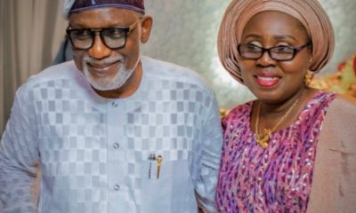 Akeredolu and his wife