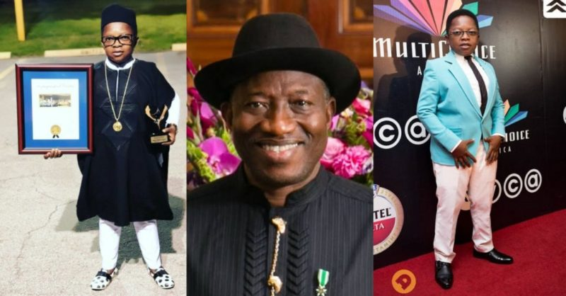 I will forever remain grateful to Goodluck Jonathan, Nigerian actor, Aki reveals