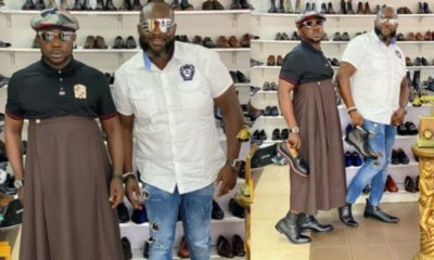 Creativity is key, fashion is madness, Osebo says as he releases new skirt wear (photos)