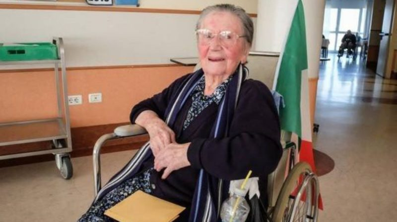 Covid-19: 108-year old Italian woman recovers
