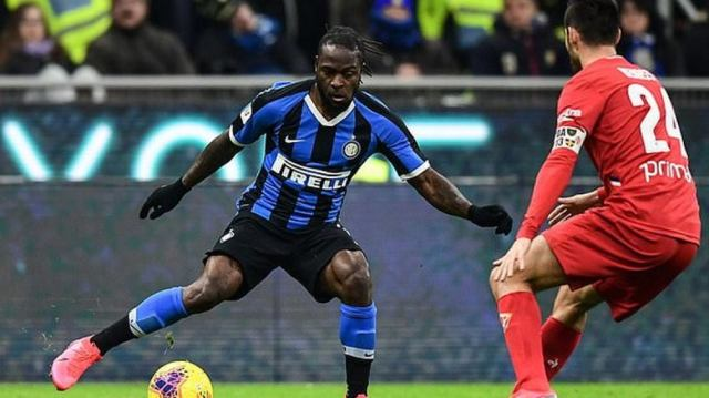 Football: Inter Milan hope to extend Victor Moses' contract from Chelsea