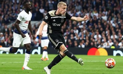Man United consider James loan, want Ajax's Van de Beek