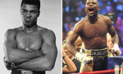 I beat more world champions than any other fighter in a shorter time, Floyd Mayweather takes a swipe at Muhammad Ali