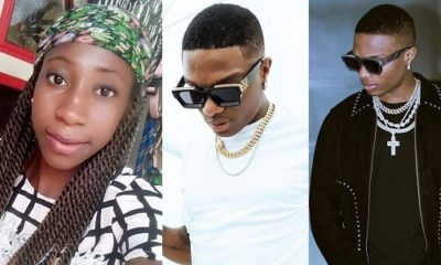 Nigerian Lady gushes over Wizkid, says he touched, pecked her in the dream