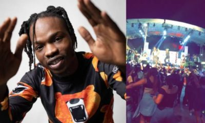 Reactions trail Naira Marley's supposed drive-in concert in Abuja last night