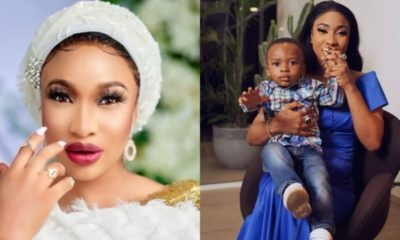 Father's day: Being your dad has been my greatest honour, Tonto Dikeh tells son, Andre (photo)