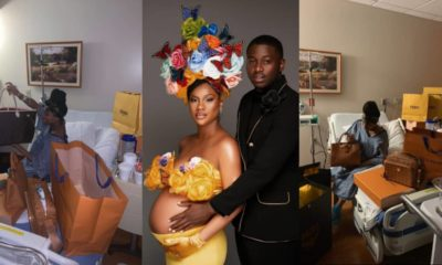 Man showers lover with expensive designer bags for giving birth to their child (Photos)