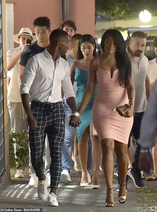 Cristiano Ronaldo Girlfriend Spotted On Romantic Date Photos Feedmuster