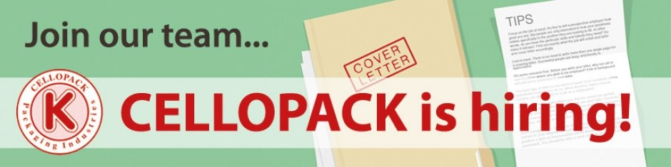 Cellopack for Packaging Industries cover photo