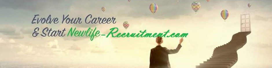 New Life for Human Resources and Recruitment cover photo