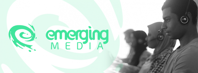 Emerging Media cover photo