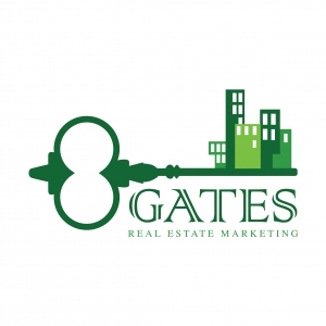 8 GATES REAL ESTATE Logo