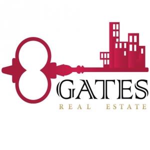 8 GATES REAL ESTATE Logo