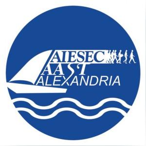 AIESEC AAST in Alexandria Logo