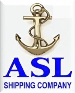 ASL SHIPPING CO. Logo