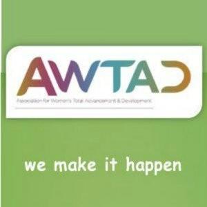 AWTAD (association for women total advancement and development ) Logo