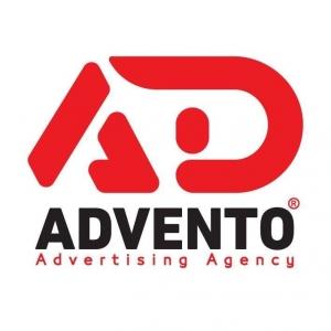 Advento Advertising  Logo