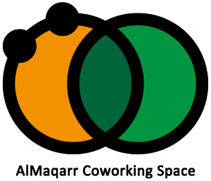 AlMaqarr Coworking Space Logo