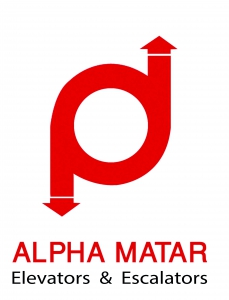Alpha Matar Co. For Elevators & Escalators  Logo